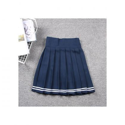 Harajuku JK Summer Skirt Women High..