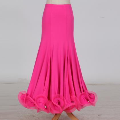 New Fashion Ballroom Dance Skirt M..