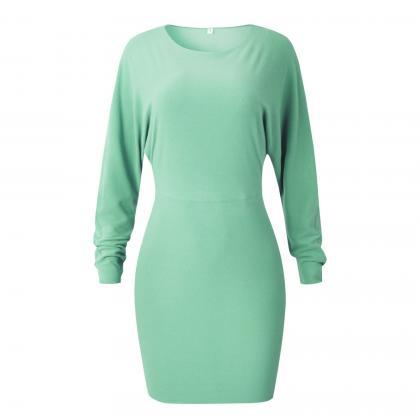 Women Pencil Dress Spring Autumn Lo..