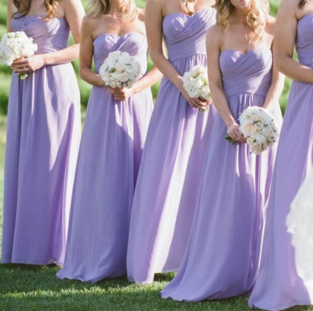 Beautiful Sweetheart A-Line Bridesmaid Dresses, Long Bridesmaid Dresses, Prom dress, Formal Gowns